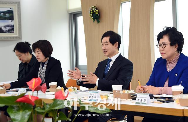 [포토] 행정혁신위원회 조찬포럼 주재하는 안병용 의정부시장