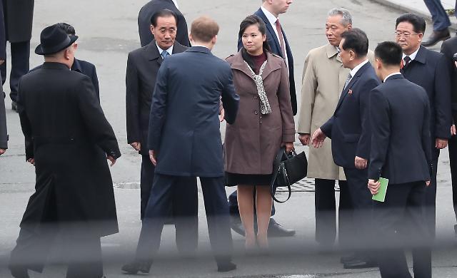 [포토] 수행단에서 빠진 김여정