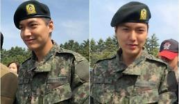 .韩国演员李敏镐今日将低调退伍.