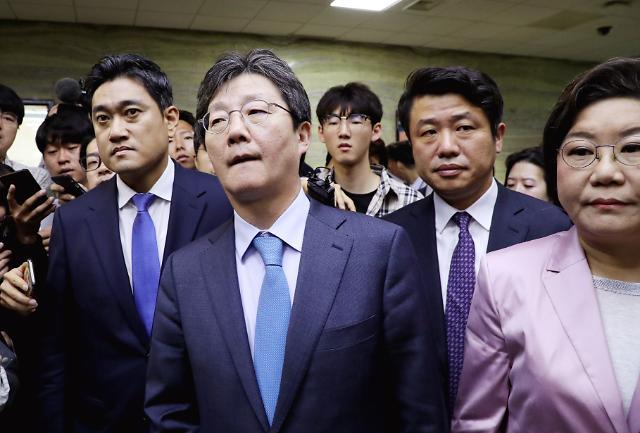 [포토] 문희상 의장 병원 찾은 유승민