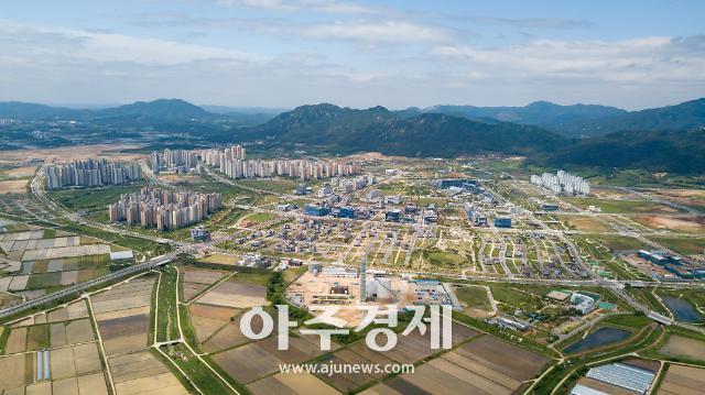 홍성군 내포신도시, 10만 자족도시 조성에 청신호 켠다