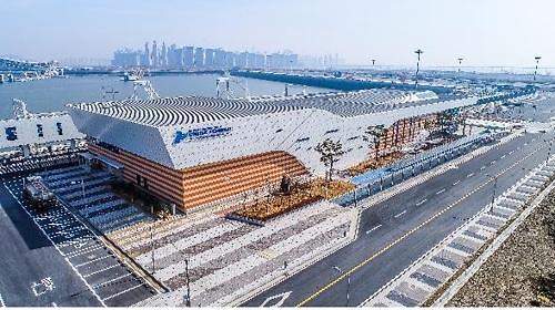 仁川邮轮港明正式启用 规模为韩国之最