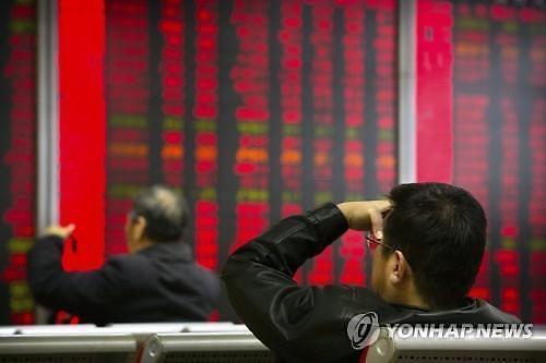 [중국증시 마감]中경기부양책 기대 후퇴에 하락 마감