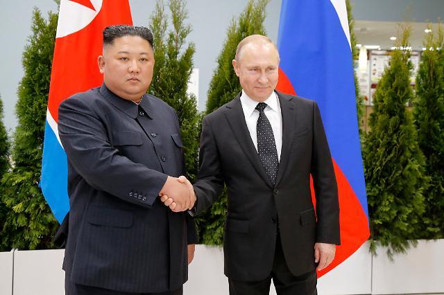 외신, 푸틴 북한 체제보장 발언에 촉각
