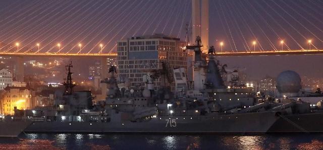 金正恩或在俄参观海军基地后今下午启程回朝