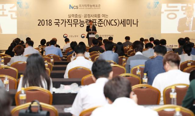 공공기관 채용시 NCS 직무수행능력평가 비중 커진다