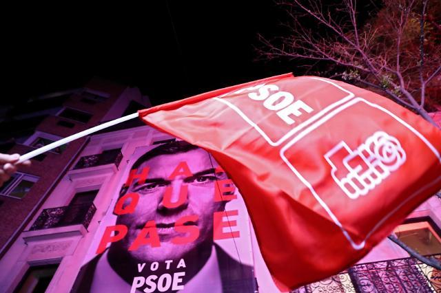 스페인 총선 사회당 절반의 승리…극우 약진 두드러져
