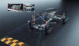 .Hyundai Mobis develops map data-based adaptive air suspension technology.
