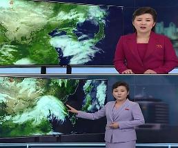 .朝鲜中央电视台改变天气预报播报方式 形式更加活跃.