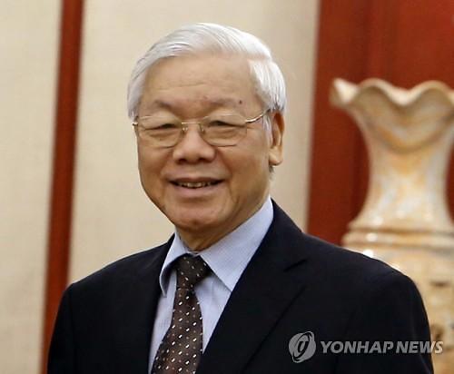응우옌푸쫑 베트남 서기장, 前주석 장례위원장으로 활동 재개