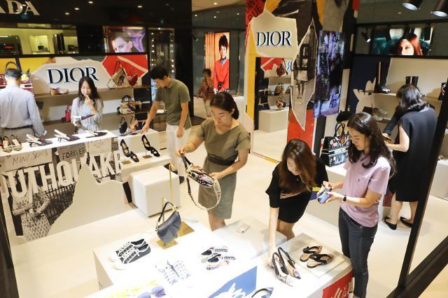 统计:韩20多岁年轻人偏爱买名牌