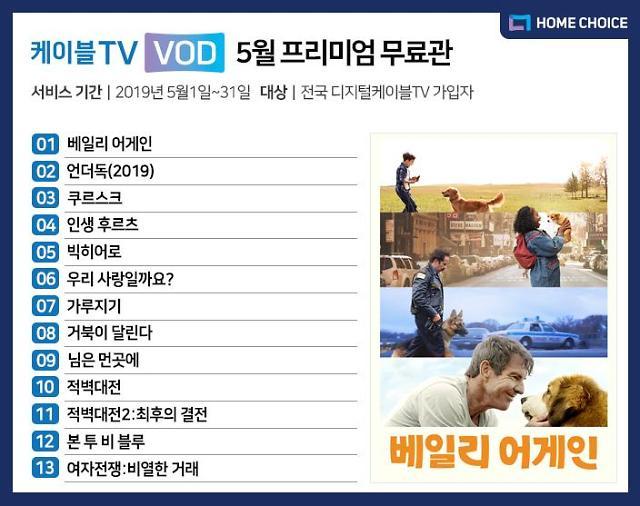 홈초이스, 베일리 어게인 등 5월 VOD 무료 라인업 공개