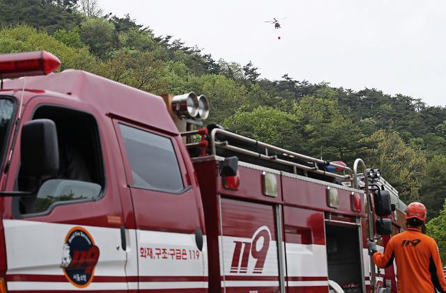 산불·들불 매년 2905건 발생…사망자 67%는 70대이상