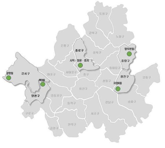 서울 사직동·망우본동 등 도시재생 희망지 5곳 선정