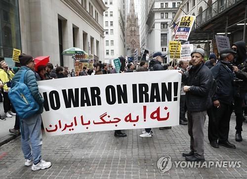 美제재 발효에 불안한 이란 정세...중동 원유 대란 우려도