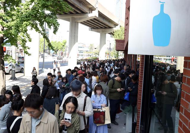 蓝瓶咖啡登陆韩国 首家门店开业
