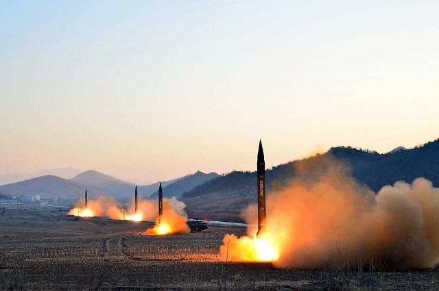 韩联参:朝鲜今晨试射数枚短程导弹