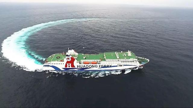 仁川至中国轮渡航线客运量大幅增加