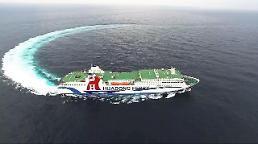 .仁川至中国轮渡航线客运量大幅增加.