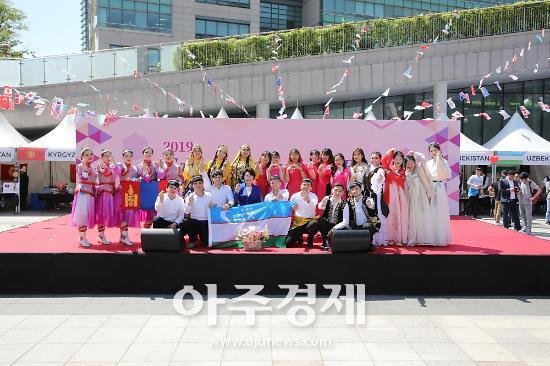 가천대 외국인 유학생 축제 '가천 인터네셔널 페어' 개최