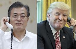 .韩美总统今晚将就朝鲜发射飞行物通电话.