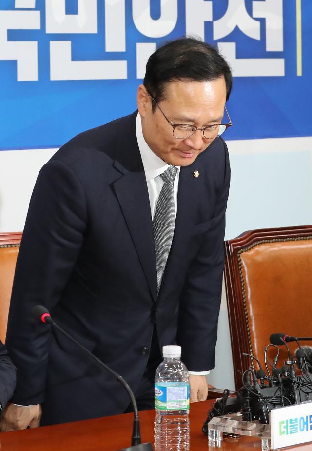 '드루킹 특검'부터 '동물국회' 오명까지…홍영표 원내대표의 '1년'