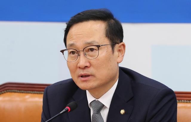 洪永杓辞去共同民主党党鞭职务