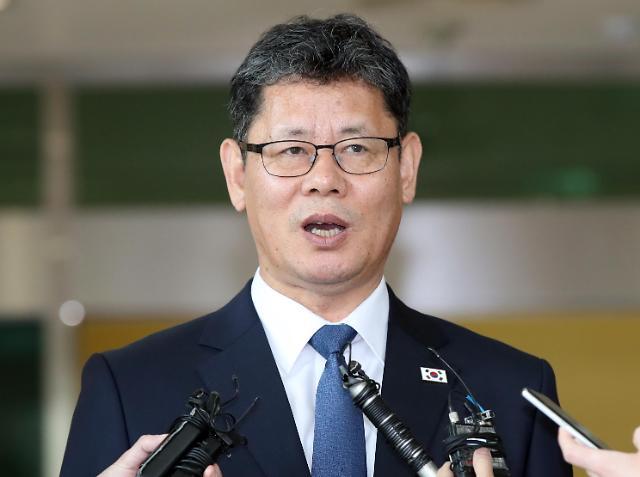 韩统一部长官首次访朝视察韩朝联办