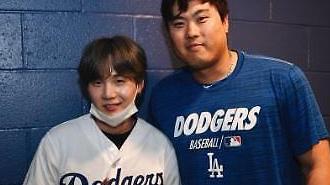 [#SNS★] 류현진 만난 방탄소년단(BTS) 슈가, KBO 응원팀은 삼성라이온즈?