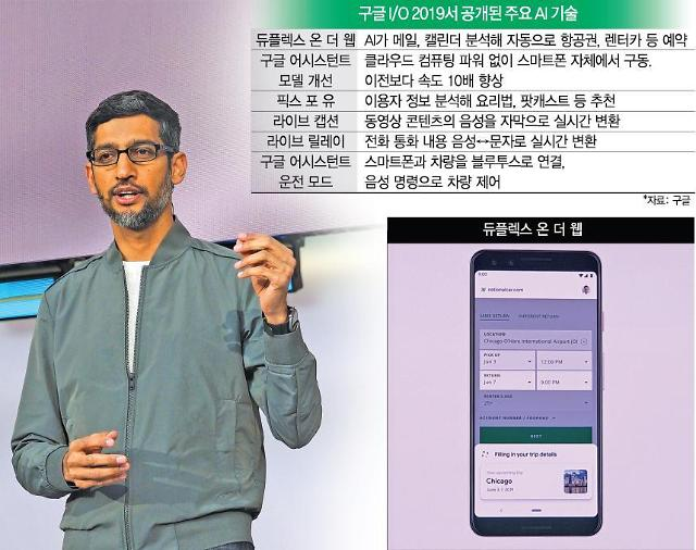 [구글 I/O 2019] 구글 AI의 진화는 어디까지?...일상에 무섭게 파고드는 구글 어시스턴트
