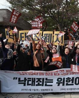 여성정책硏, 9일 낙태죄 헌법불합치 결정 관련 정책과제 논의