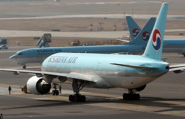 大韩航空在世界航空公司排名中位居倒数第四
