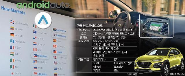 """[구글 I/O 2019] """"안드로이드 오토, 2020년까지 전세계 자동차 1억대에 탑재"""""""