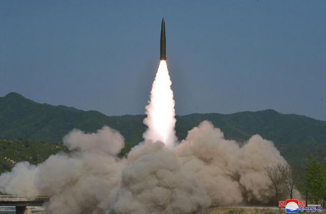 美国认定朝鲜昨试射射程超300公里的弹道导弹