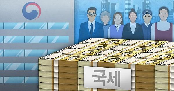1至3月份税收同比减少8000亿韩元