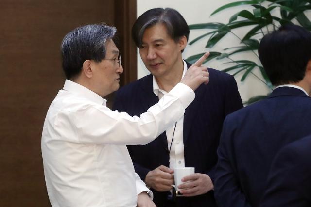 """조국 """"권력기관 개혁, 정파를 넘은 협력 필요"""""""