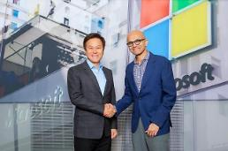 .SK Telecom partners with Microsoft to co-develop innovative services using 5G and cloud.