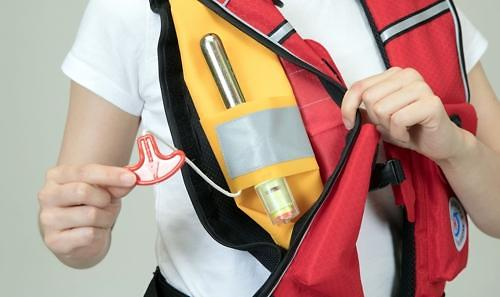 Researchers succeed in localizing automatic inflator for life jackets