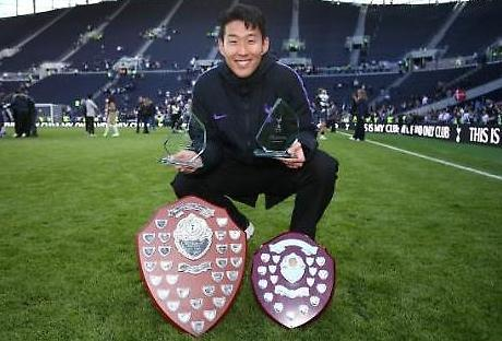 Son Heung-min...Cầu thủ xuất sắc nhất mùa giải
