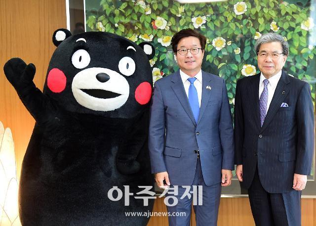 염태영 수원시장, 일본 구마모토현 방문해 정책 벤치 마킹