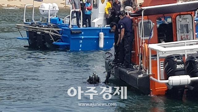 보령해경, 스쿠버 활동중 실종된 50대 숨진 채 발견