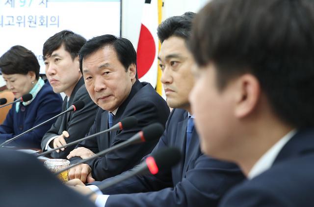 손학규, 지도부 사퇴 촉구 해임 13명 당직자...복귀시키기로