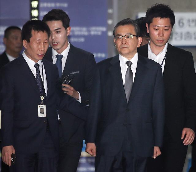 구속 하루만에 김학의 검찰소환, 성접대 의혹 등 집중 추궁