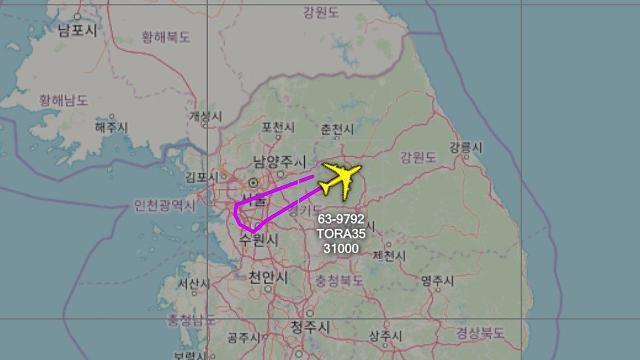 [FOCUS] American spy planes work hard at their job near inter-Korean border