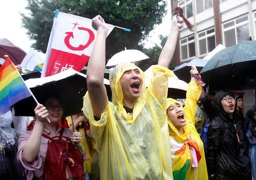대만, 아시아 최초로 동성결혼 허용