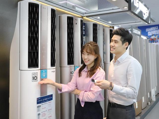 [주말 쇼핑정보] '때이른 더위'…에어컨, 하이마트·전자랜드 구입적기는 5월