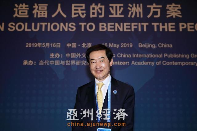 韩国议政府市长安炳龙专访 为促进两国民间交流而努力