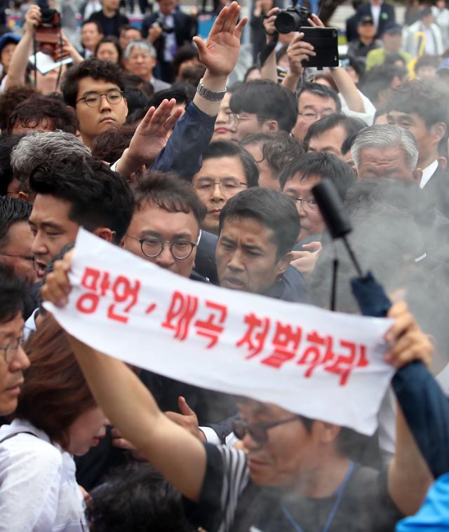 5.18 기념식 마치고 이념논쟁…여야 또 으르렁