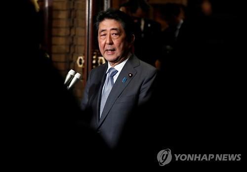 """아베, 北김정은과 대화 의지 거듭 강조...""""납치문제 해결 우선"""""""