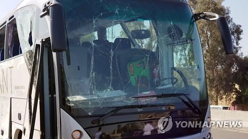 [글로벌포토]이집트 기자피라미드 인근서 폭발물 공격..관광객 16명 부상